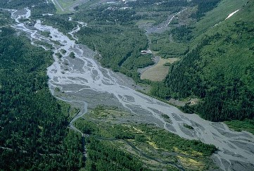 Drawn river channel a A 1997) as geology (Best