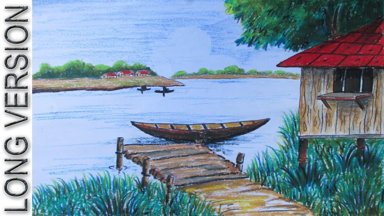 Drawn scenery river Episode 13 to VERSION] Village