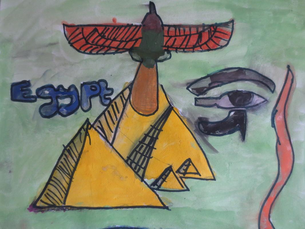 Drawn river color for kid Have sketchbook symbols five your