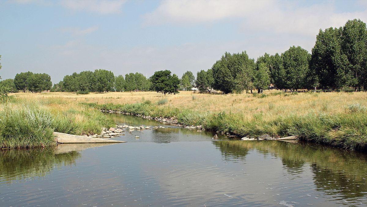 Drawn river creek Sand Colorado) Creek Wikipedia (Denver