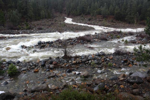 Drawn river creek Shasta Mt river Shasta 1