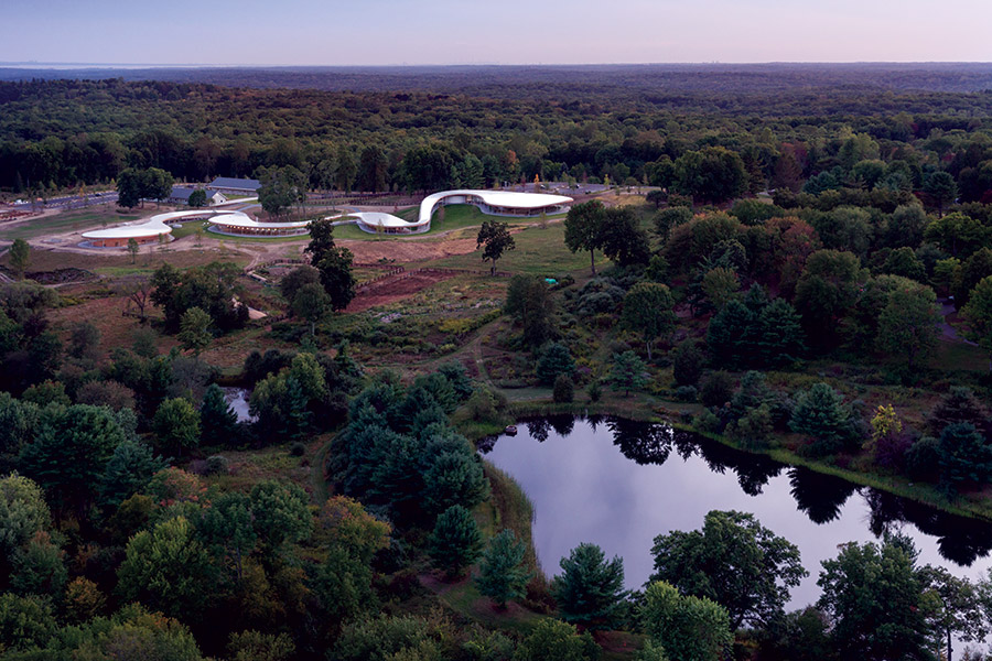 Drawn river farm landscape Landscape 'The Iwan River Aerial
