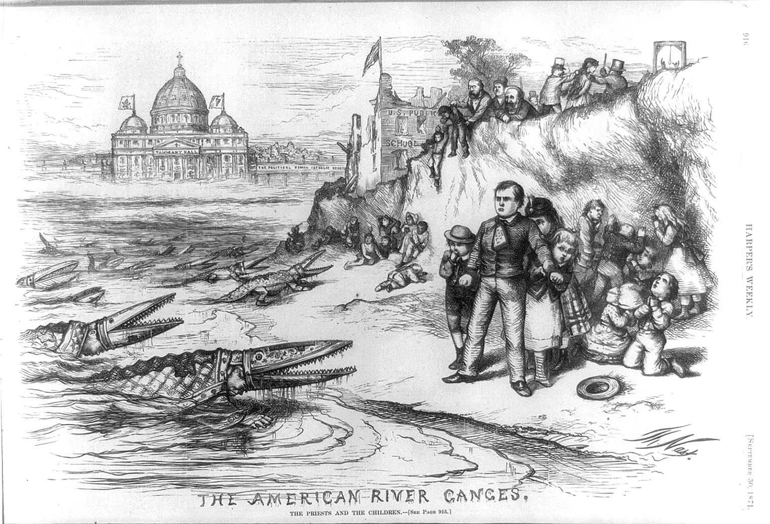 Drawn river ganga River River Nast 1871 Weekly
