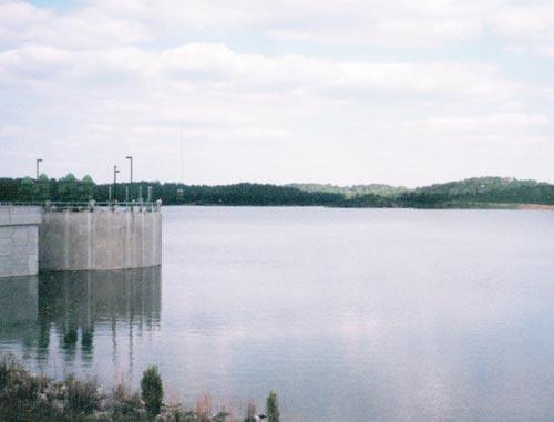 Drawn river lake  River J Javors from