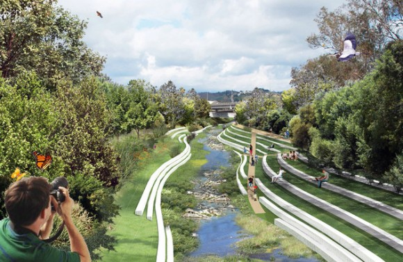 Drawn river master Revitalization its River Rediscovers Angeles