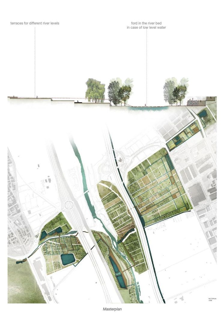 Drawn river master Color Architecture Pinterest #ClippedOnIssuu Landscape