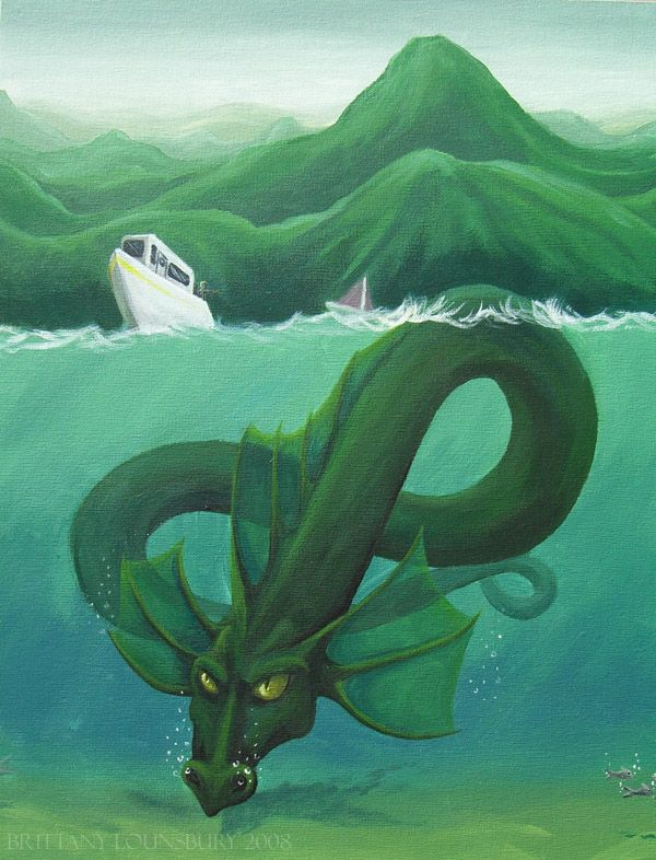Drawn river monster And best Monsters ~Terrizae on