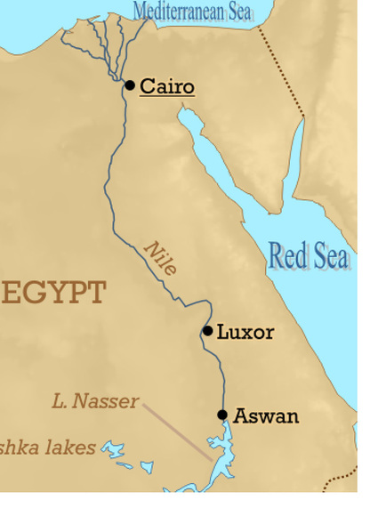 Drawn river nile river Picture of The Egypt Ancient