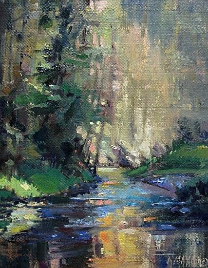 Drawn river oil painting 1271 best Mary St Too