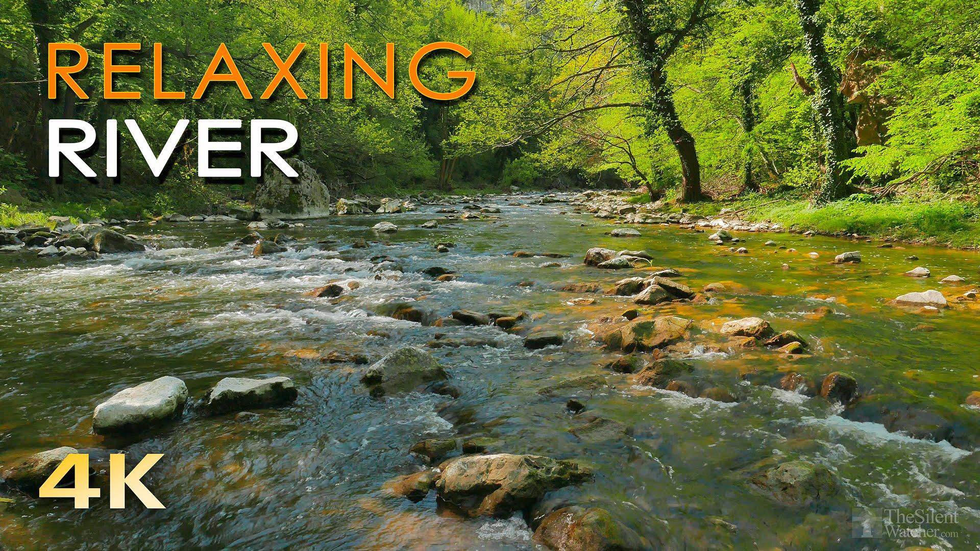 Drawn river pure 4K HD River Water Ultra