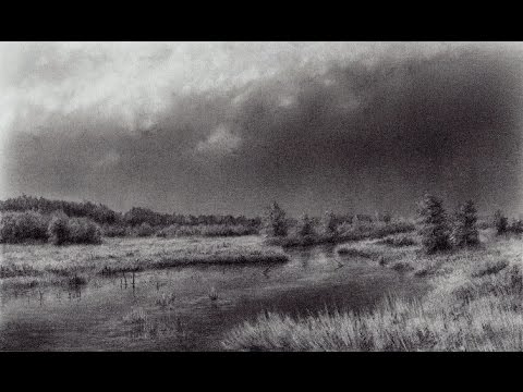 Drawn river realistic And a River a Time
