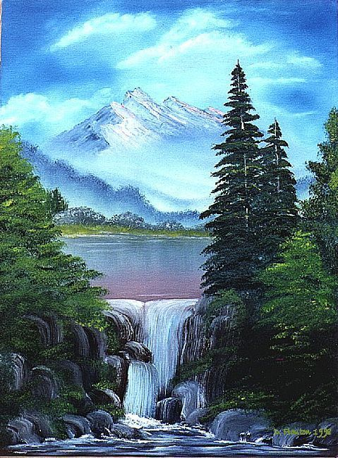 Drawn river realistic Search best Google drawing paintings