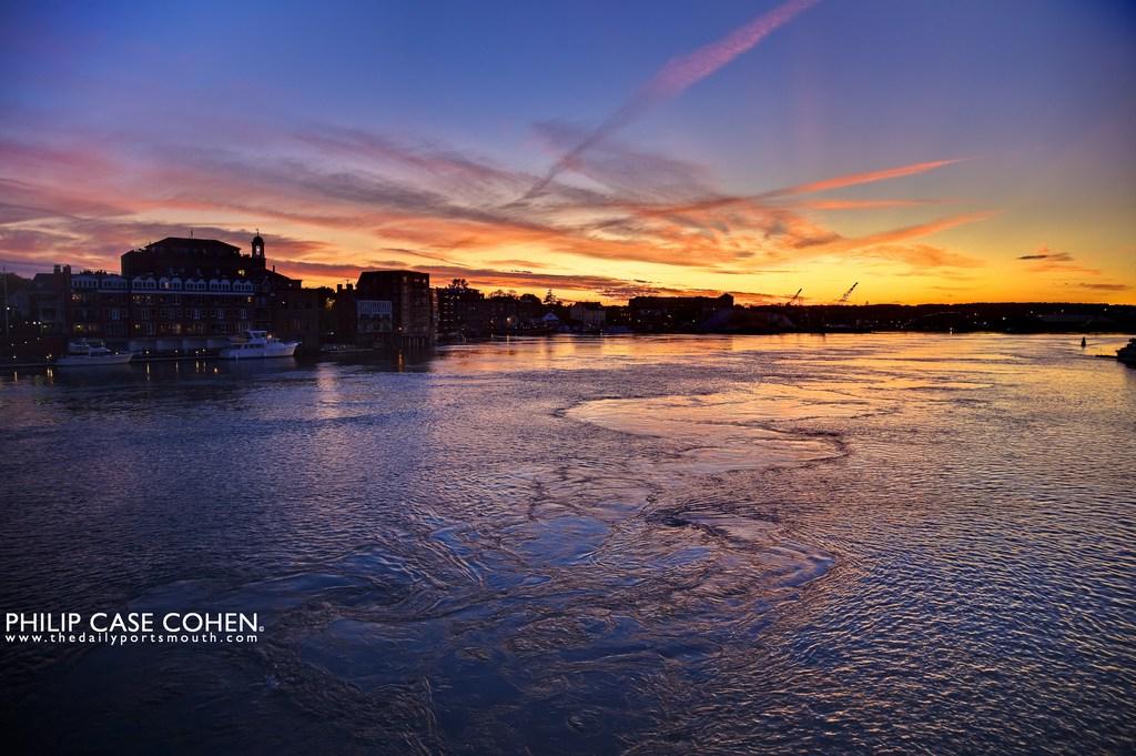 Drawn river sunset That secret I River am