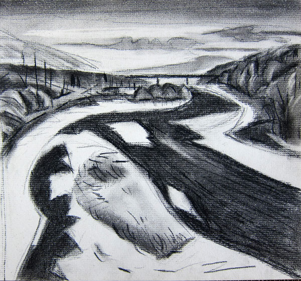 Drawn river the brook IMG_1645 cassandra the pages: