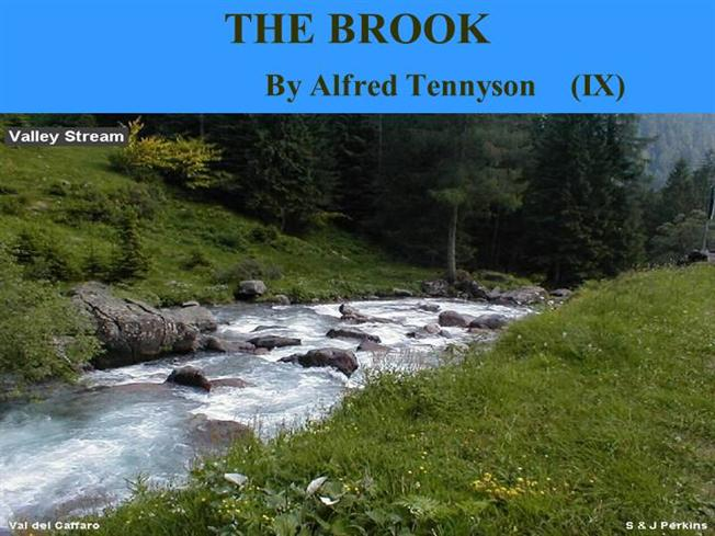 Drawn river the brook THE THE BROOK authorSTREAM BROOK