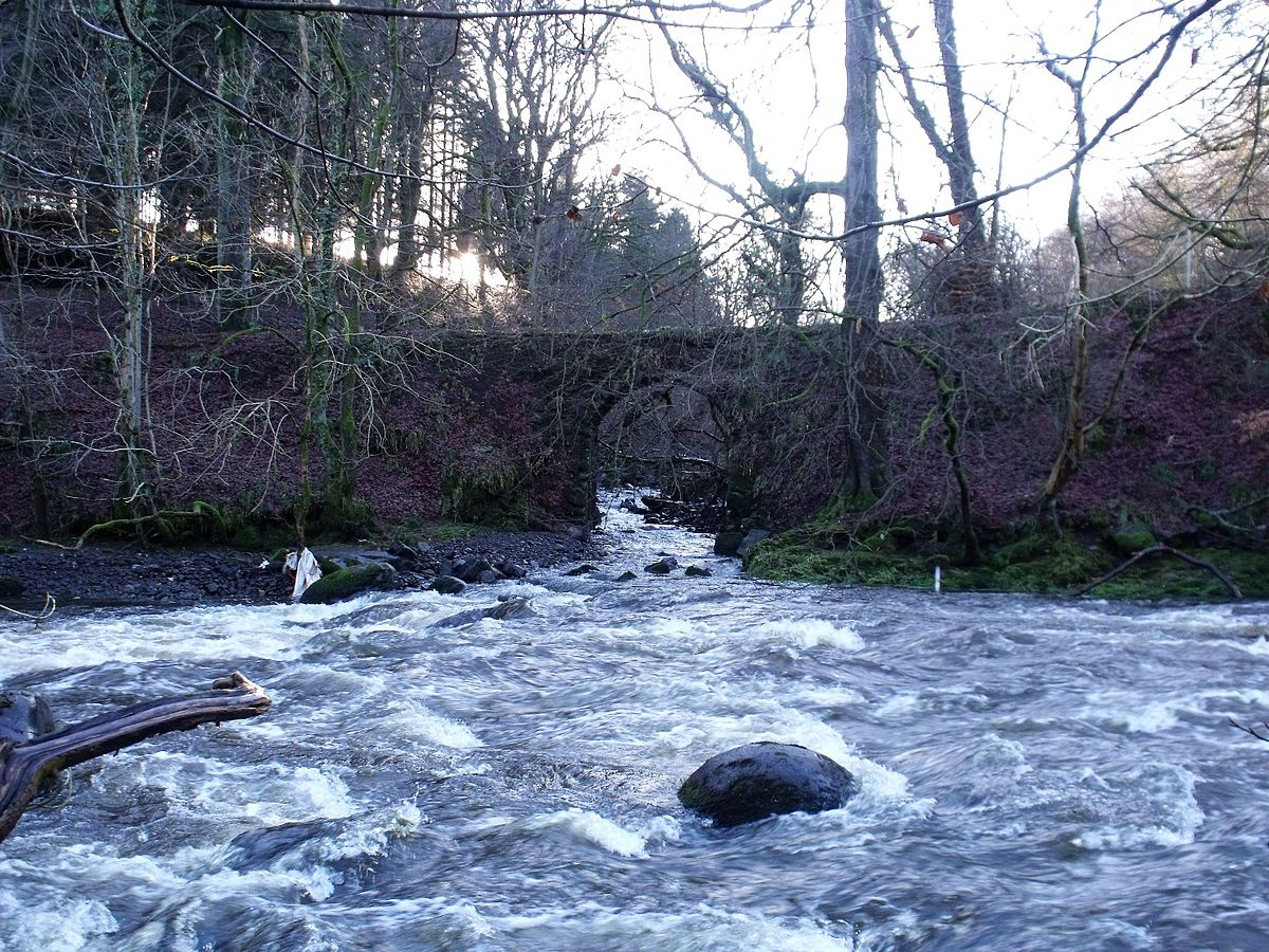 Drawn river water stream Carron  Forth River Wikipedia
