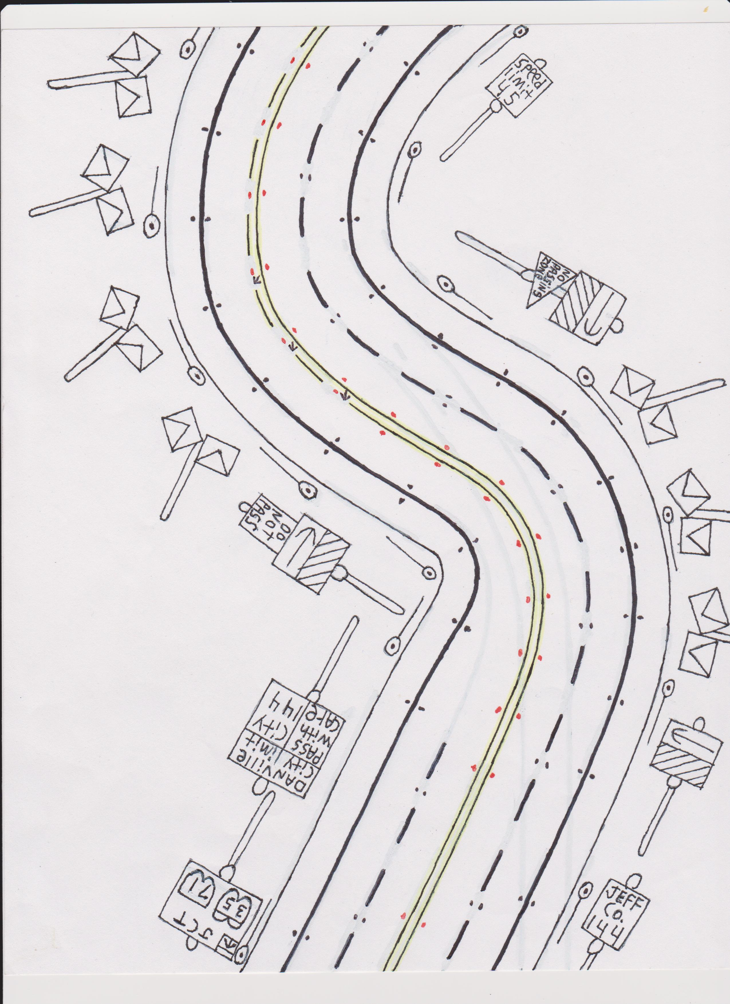 Drawn road Road Road Drawings Pinterest net