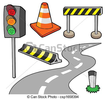 Drawn road curvy Illustration Stock  isolated road