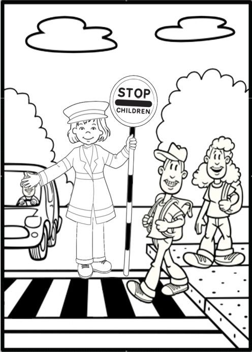 Drawn road black and white 25+ Page Best Olivia Safety