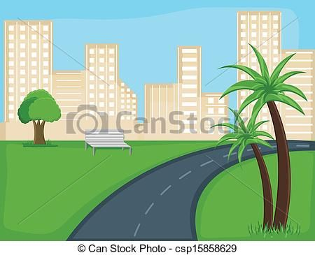 Drawn roadway road background Background Clip Cartoon background Road