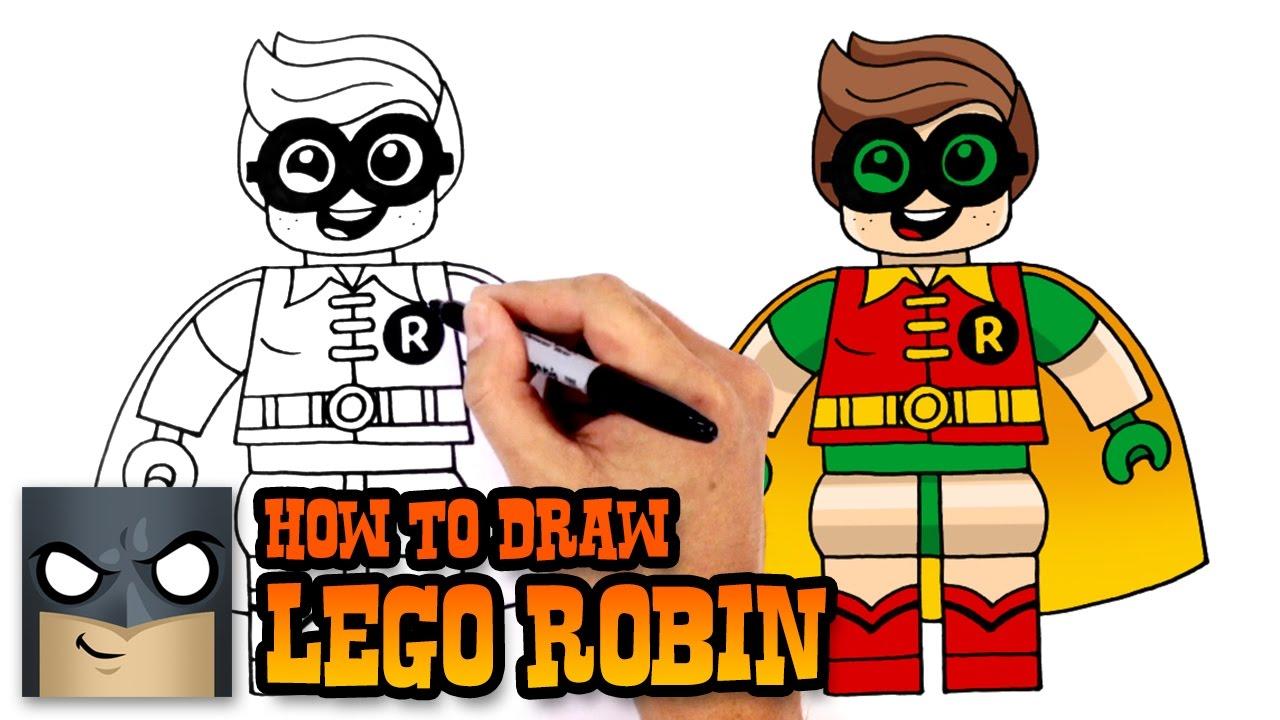 Drawn robin batman drawing Robin How Batman How Batman