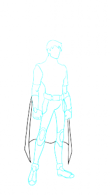 Drawn robin batman drawing From Easy How step How