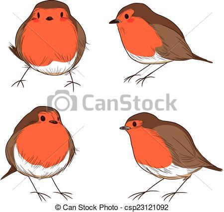 Drawn robin clipart Clipart 0 art art clip