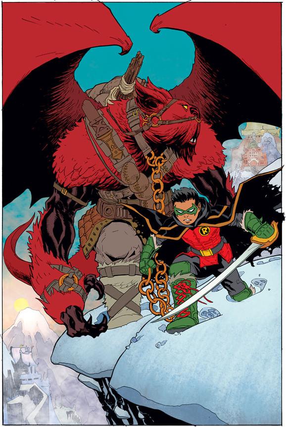 Drawn robin comic book superhero Things from Revamp Major Missed