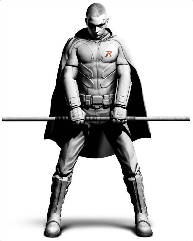 Drawn robin comic book superhero (VG) at Gen Robin Asylem