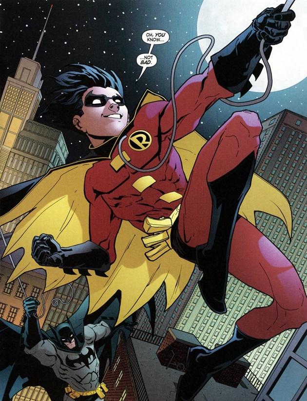 Drawn robin comic book superhero Your The in To Wonders