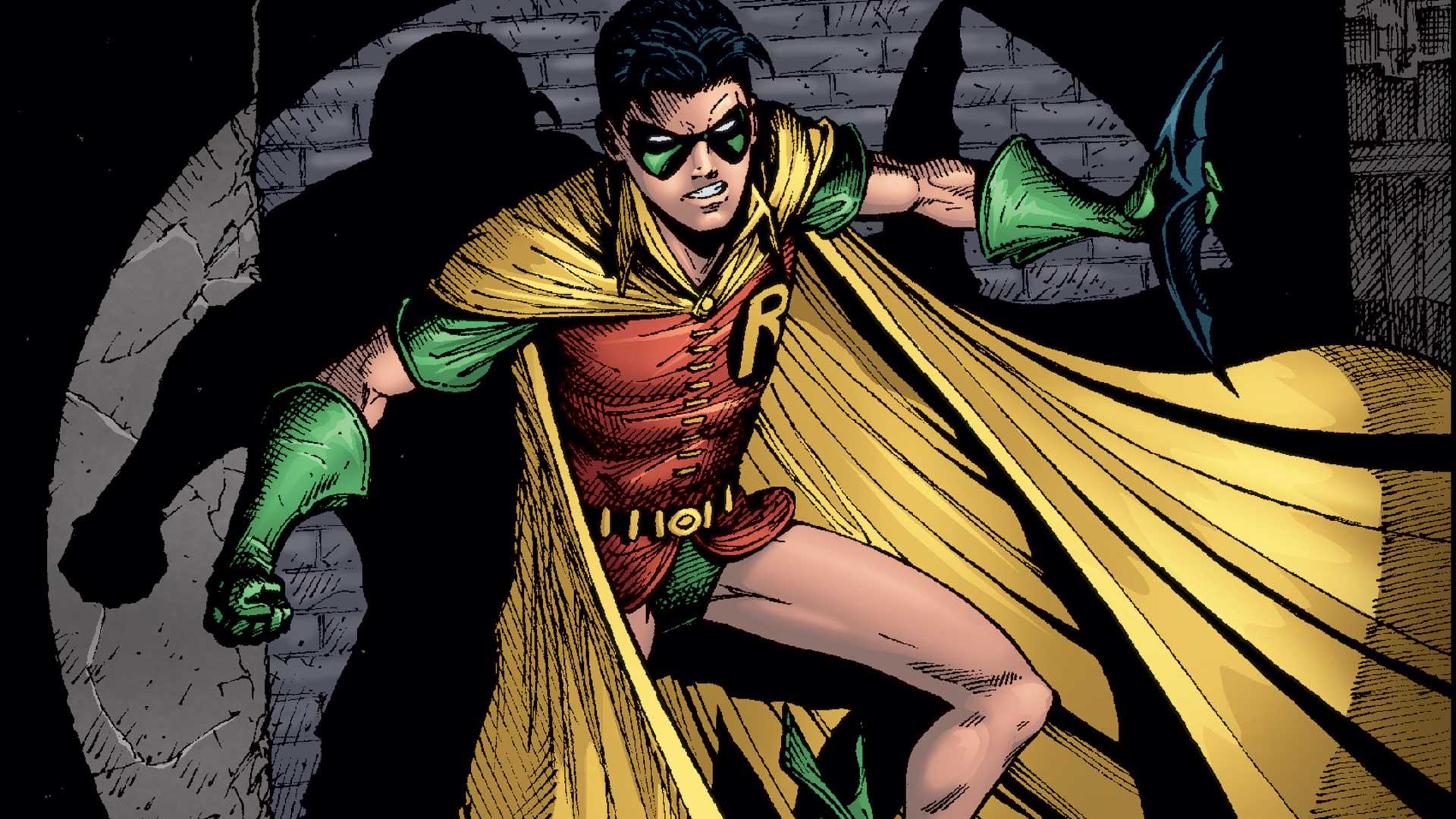 Drawn robin comic book superhero 101: DC Heroes One