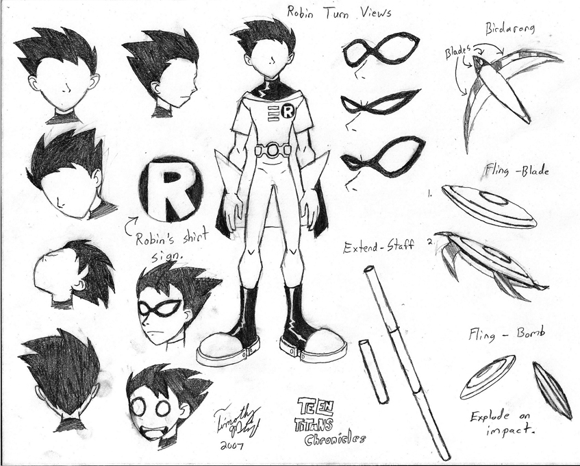Drawn robin dark 134 Robin Titans! Teen best