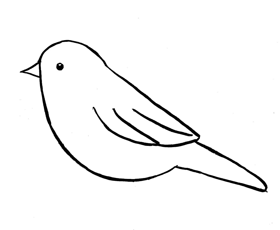 Drawn robin easy Chickadee by Step Drawing Bell