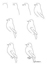 Drawn robin easy How bird Pinterest simple a