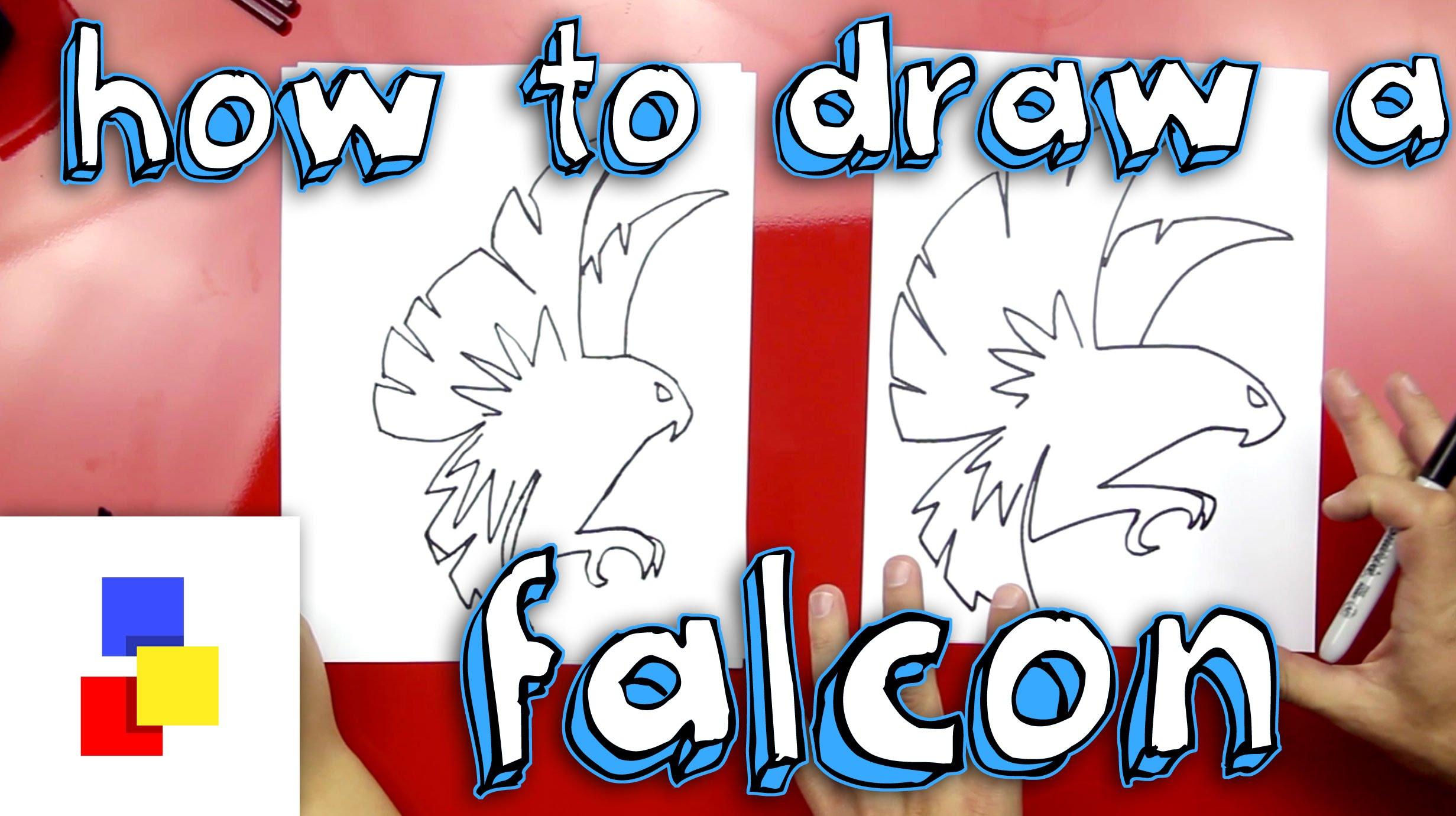 Drawn robin falcon A How Falcon To