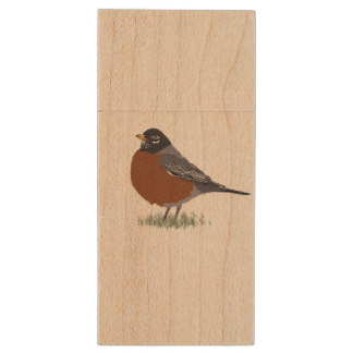 Drawn robin flash Robin Zazzle Wood Bird Red