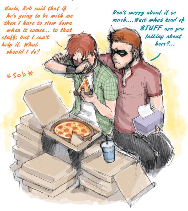 Drawn robin flash Robin on kun Yuikai over