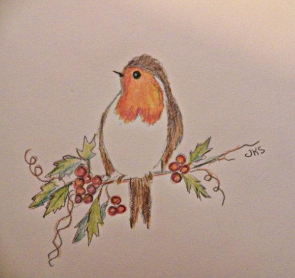 Drawn robin garden Few Garden poems pictures of