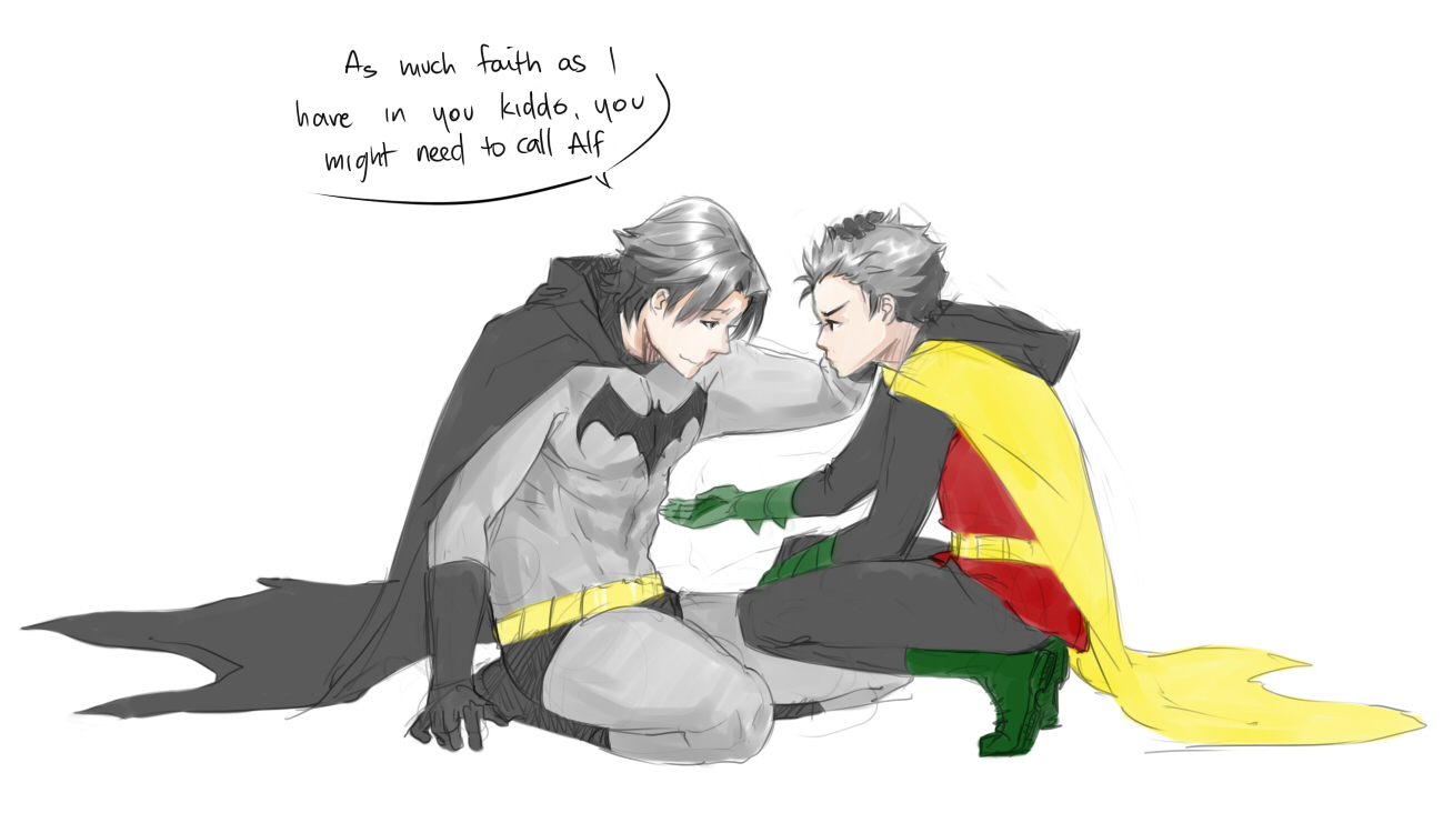 Drawn robin kitten By Your chan Your Robin