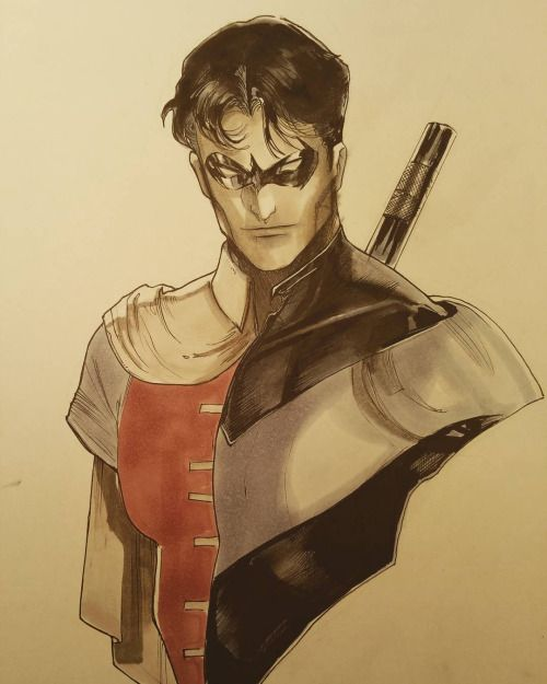 Drawn robin marvel Best Nightwing * Robin/Nightwing images