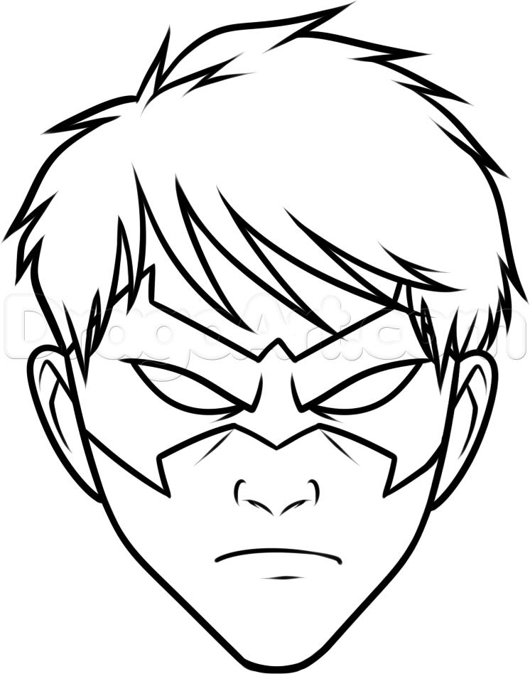 Drawn robin nightwing How  to 6 draw