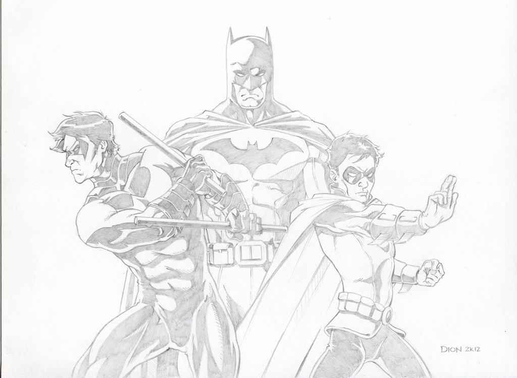 Drawn robin nightwing Robin by Nightwing Robin on