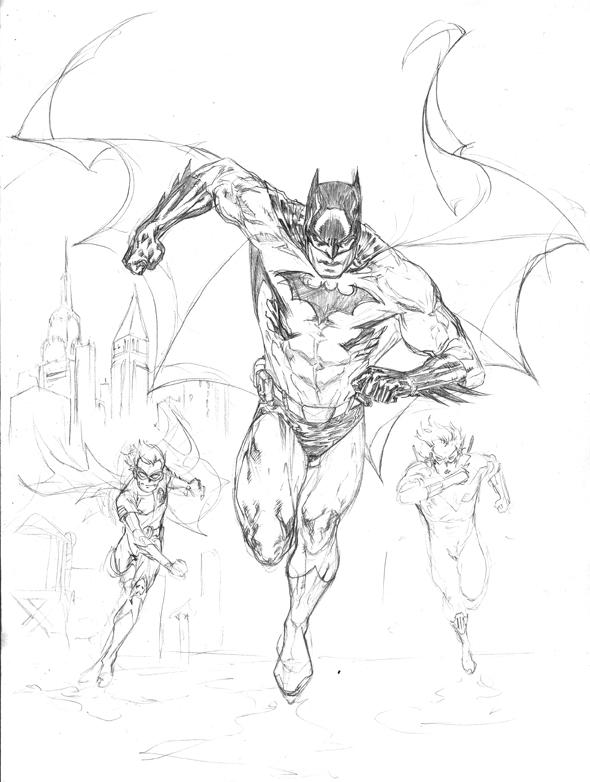 Drawn robin nightwing Drawing Nightwing Robin and Robin