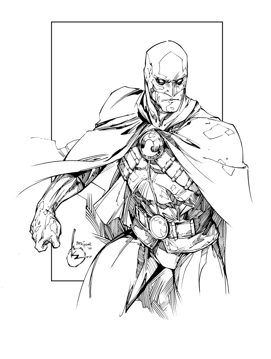 Drawn robin red robin Inks by Robin Red Robin