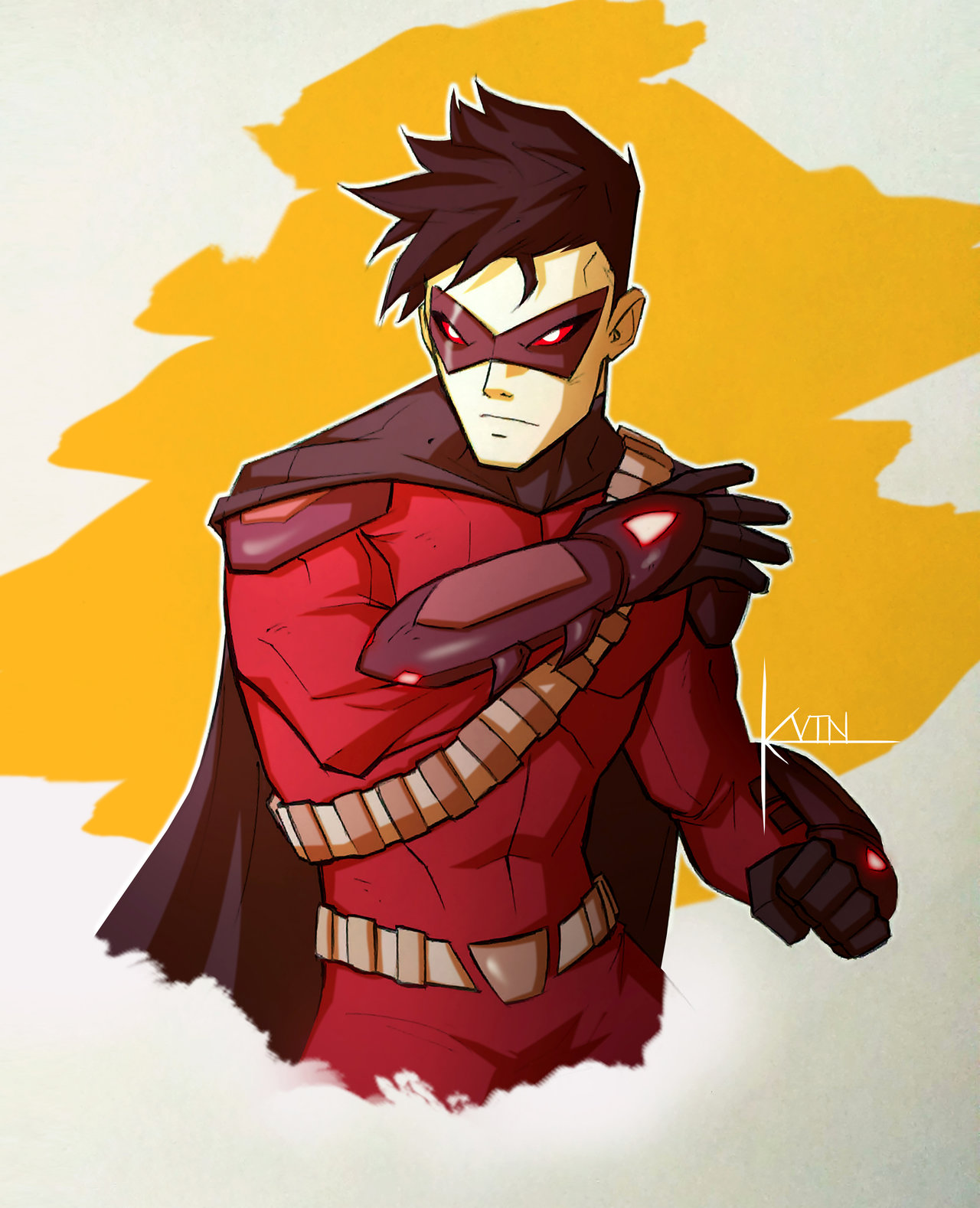 Drawn robin red robin Red on COLOR  SOB: