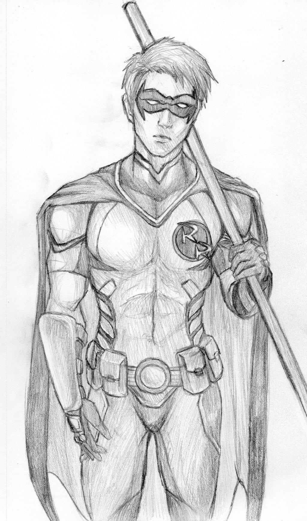 Drawn robin red robin Comics: kimberly Robin  DC