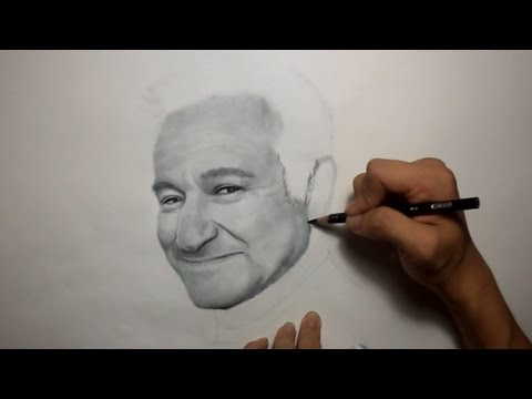 Drawn robin robin williams tribute Robin YouTube tribute  Williams