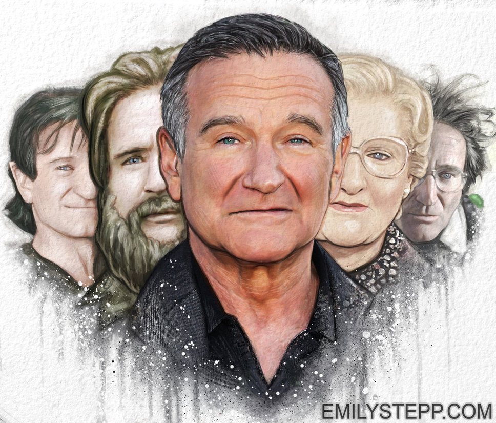 Drawn robin robin williams tribute Tribute Williams Williams EmilyStepp on