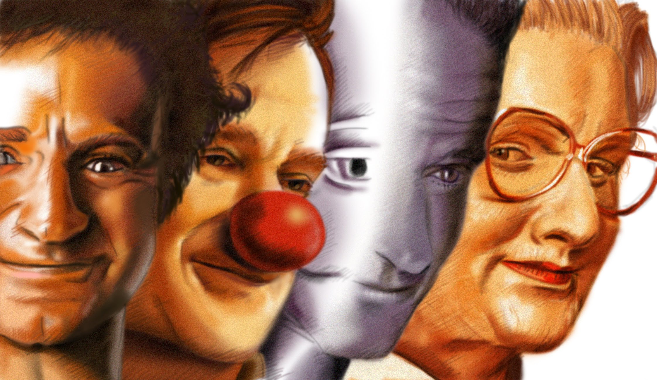 Drawn robin robin williams tribute Drawing tribute Robin speedpainting 2014