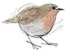 Drawn robin sketch  Google Original Dot Search